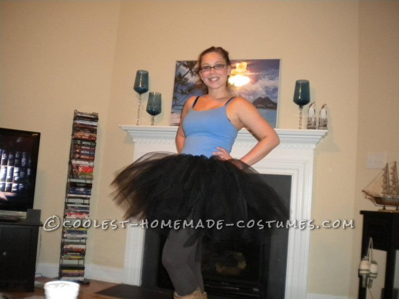What girl doesn\'t want to wear a tutu on Halloween? I was trying to come up with costumes that involved and tutu and suddenly it hit me: THE BLACK