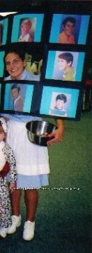 Original Homemade Costume Idea: The Crazy Brady Bunch, Starring: Alice! - 1