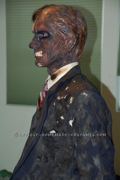 Awesome Two-Face Homemade Halloween Costume - 3