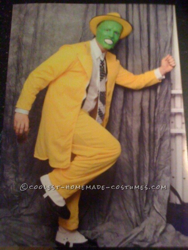 Coolest Homemade Halloween Costume: The Mask - Jim Carrey