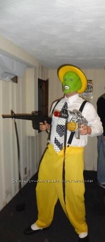 Coolest Homemade Halloween Costume: The Mask - Jim Carrey