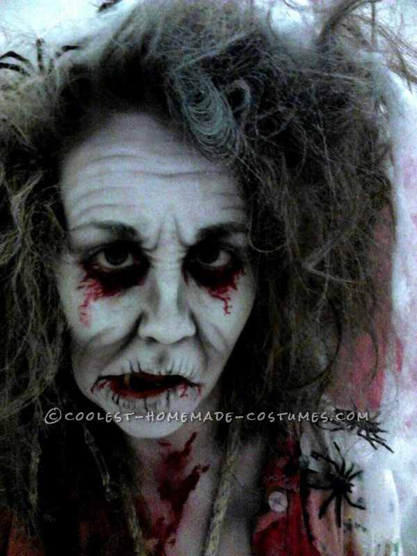 Creepy Zombie Grannies Homemade Group Costume - 3