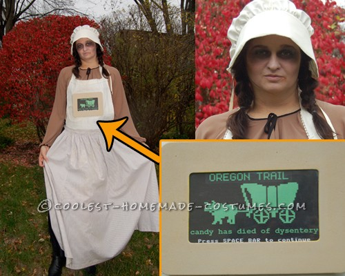 the only oregon trail costume youll ever see