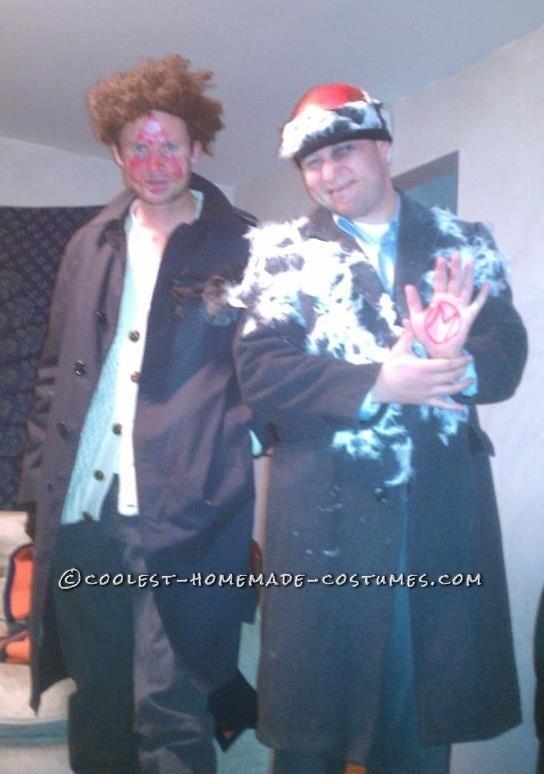 Original Couple Costume Idea: Wet Bandits from Home Alone