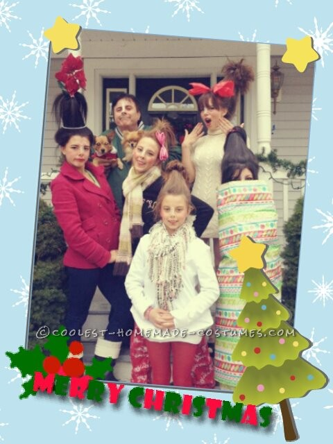 How The Grinch Stole Christmas Whos.Great Group Costume Idea The Who S Family From How The