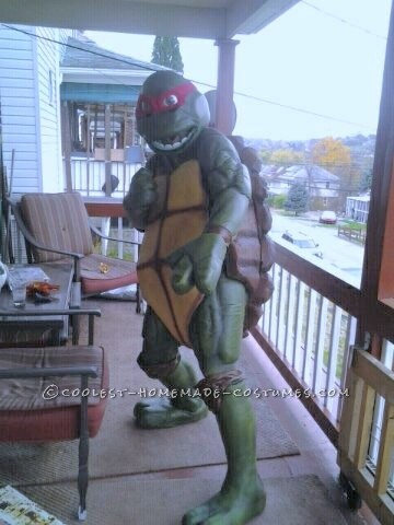 Cool Homemade TMNT Raphael Movie Style Costume