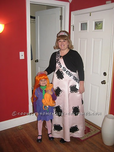 Me and my daughter who was Daphne from Scooby Doo