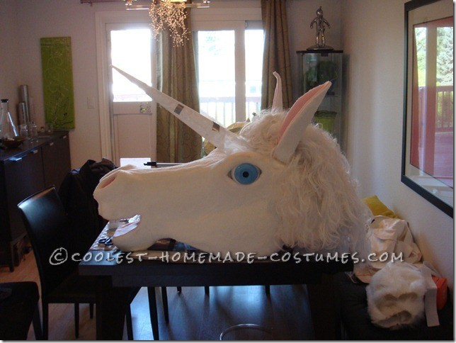 Cool Homemade Unicorn Costume With Fannypack - 1