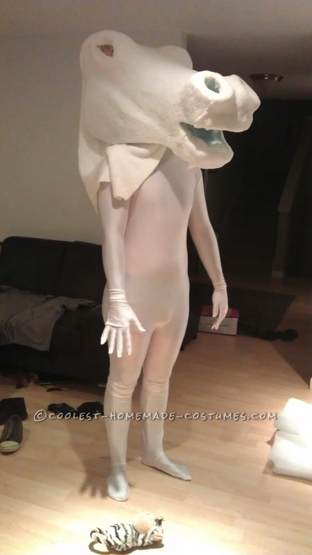 Cool Homemade Unicorn Costume With Fannypack - 3