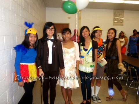 In high school, my close friends and I loved making group costumes for all six of us. Our senior year we decided to be unique and be the import