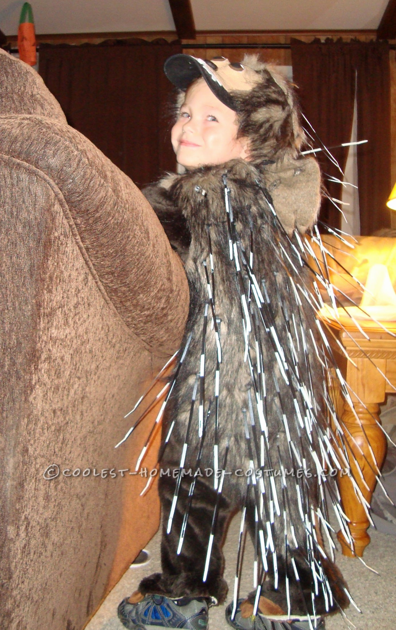 """""""I want to be a Porcupine Mom!"""" was my four year olds response when I asked him what he wanted to be for Halloween this year. I have to"""