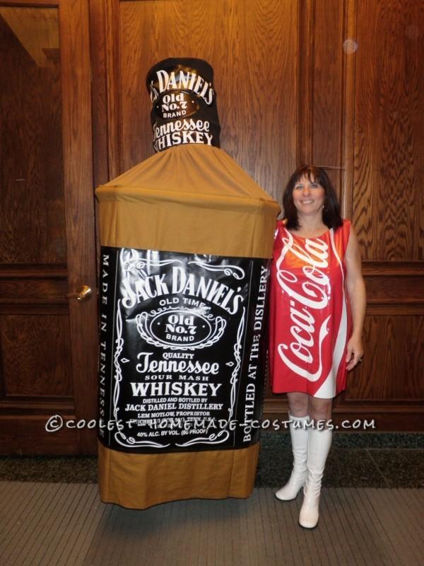 Original Jack and Coke Homemade Couple Costume - 1