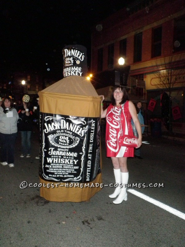 Jack bottle had to be walked thru the streets since he could not see well.