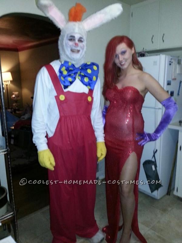 Who Framed Roger Rabbit Couple Halloween Costume - 1