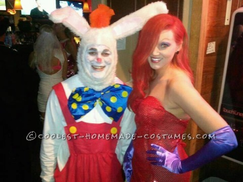Who Framed Roger Rabbit Couple Halloween Costume