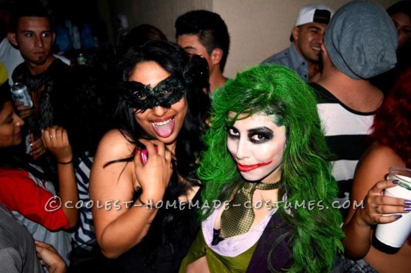 Coolest Homemade Girl Joker Costume - 4