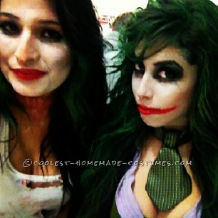why so serious? Miss Joker !Well as usal I like to be a guys costume but make it my girl version so I decided to be the Joker, besides the Joker is
