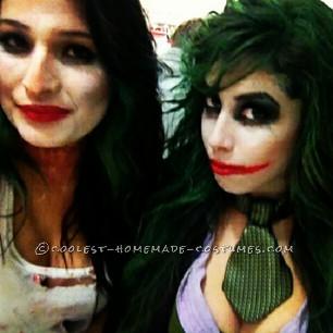 Coolest Homemade Girl Joker Costume - 1