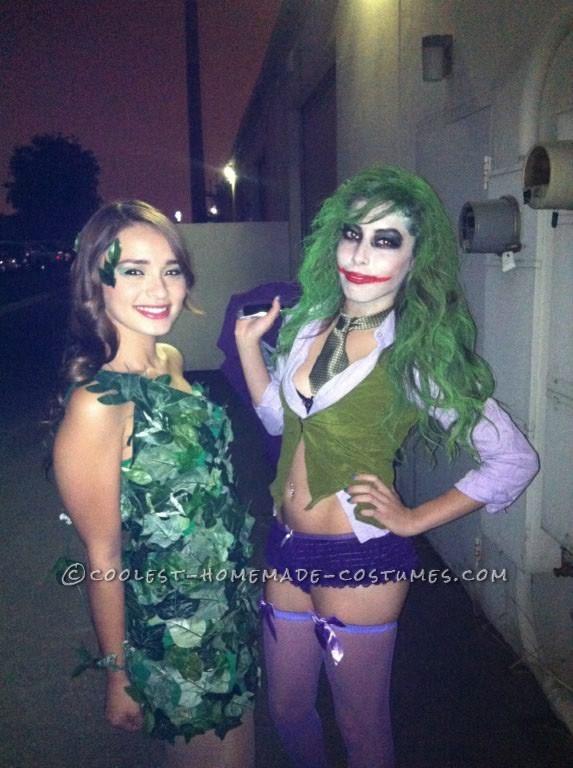 Coolest Homemade Girl Joker Costume