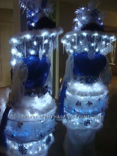 Coolest Winter Theme Ice Queen Costume - 4