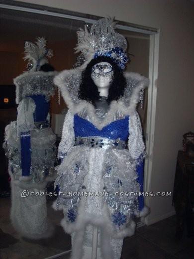 Coolest Winter Theme Ice Queen Costume - 1