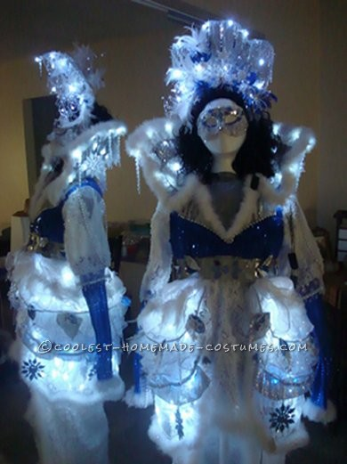 Coolest Winter Theme Ice Queen Costume