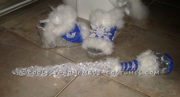 Coolest Winter Theme Ice Queen Costume - 2