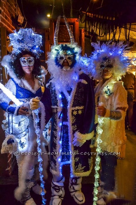 Coolest Winter Wonderland Group Costume: Ice Queen, Jack Frost and Snow Queen - 1