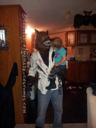 Great Homemade Costume Idea: Become a Wolfman!