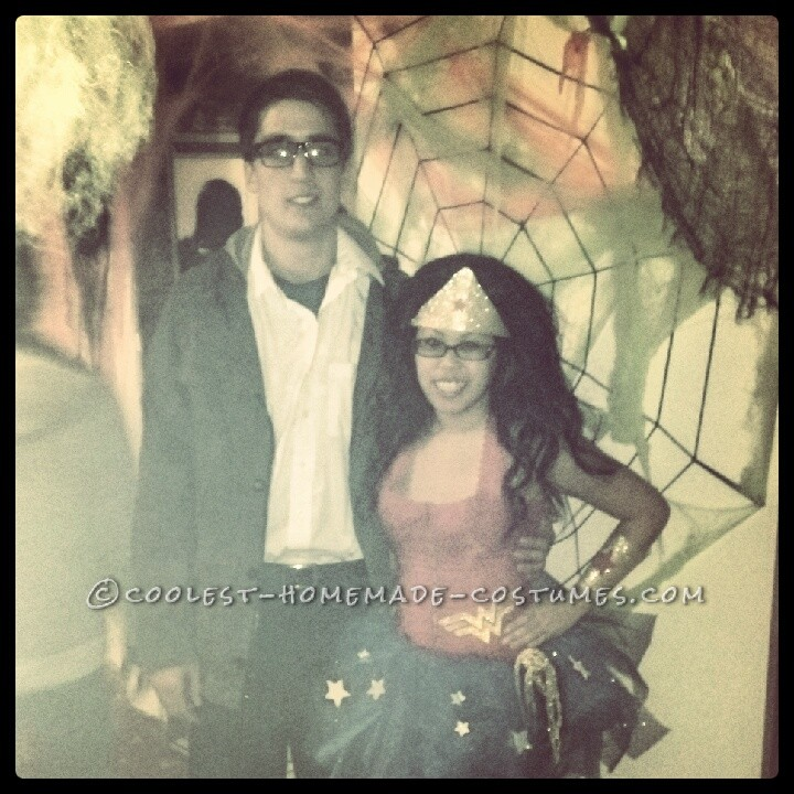 Clark Kent and Wonder Woman