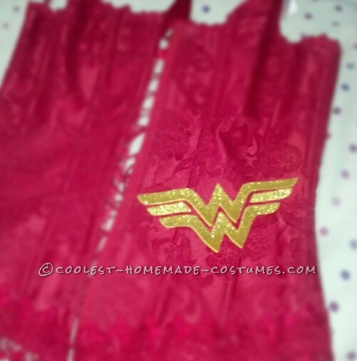 Homemade Wonder Woman Costume Made in One Day! - 2