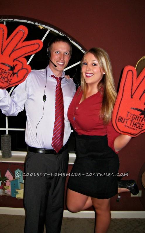 Last-Minute Workaholics Couples Costume