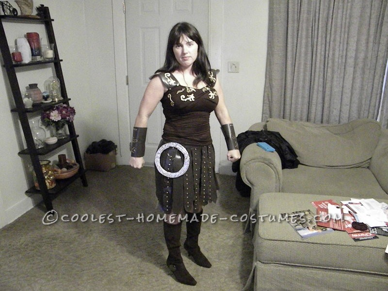 Coolest Xena Warrior Princess Halloween Costume
