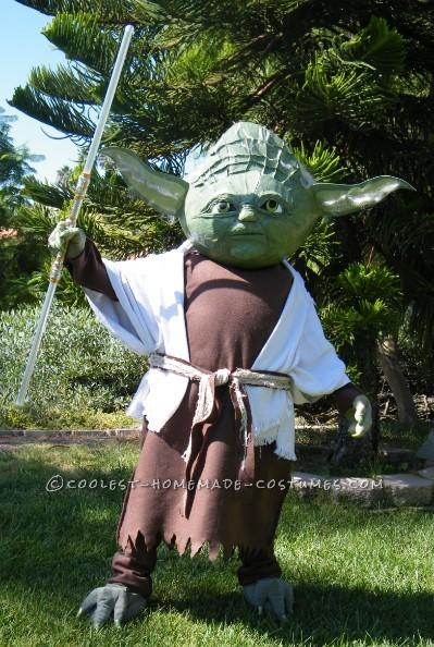 Coolest Homemade Yoda the Jedi Master Costume