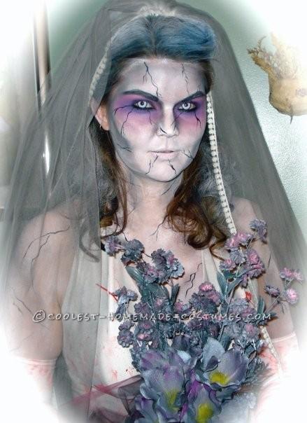 Cool Zombie Bride Costume - 2