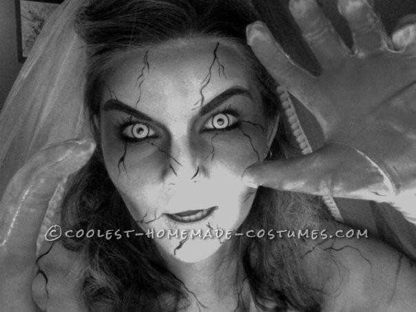 Cool Zombie Bride Costume - 5