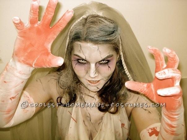 Cool Zombie Bride Costume - 1