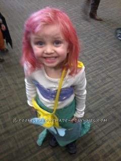Homemade Little Mermaid Costume for a Girl