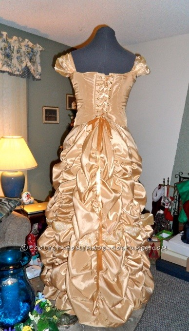 Finished Gown back