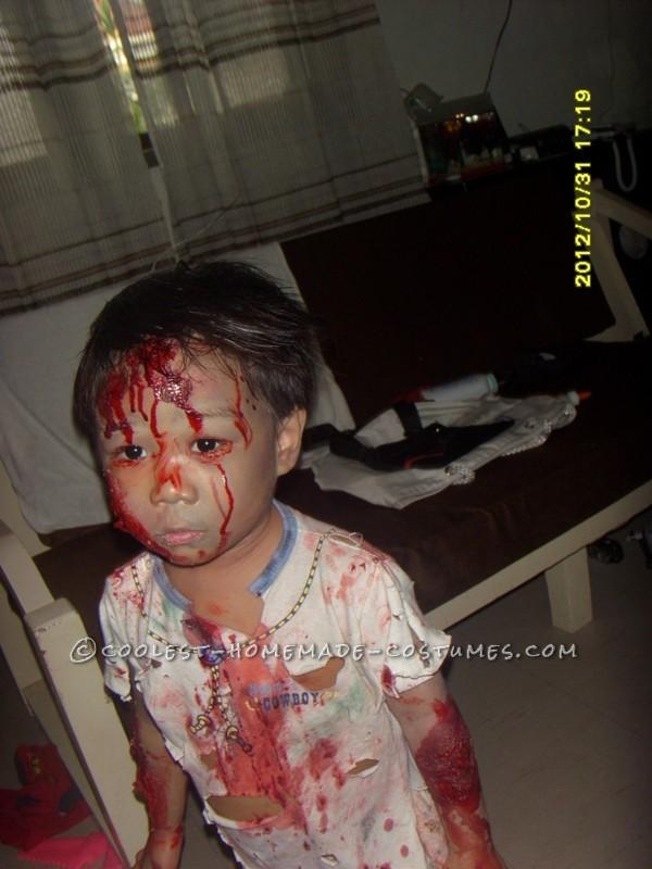 Bloody Child Zombie Costume