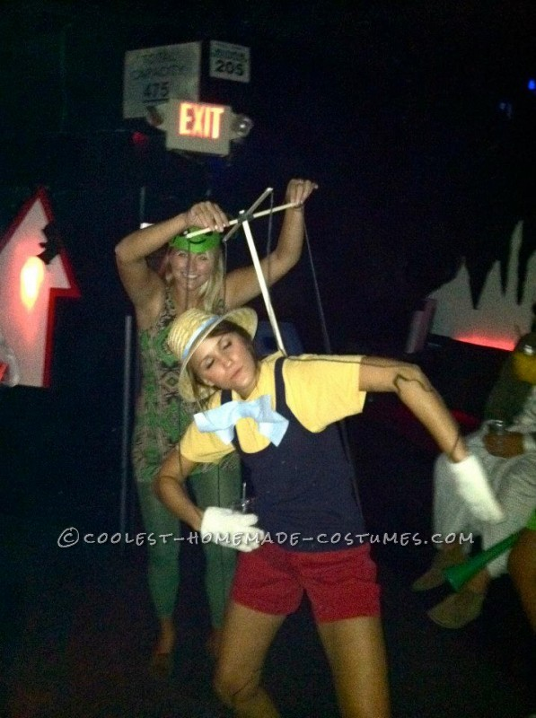 Coolest Homemade Pinocchio Costume for a Female