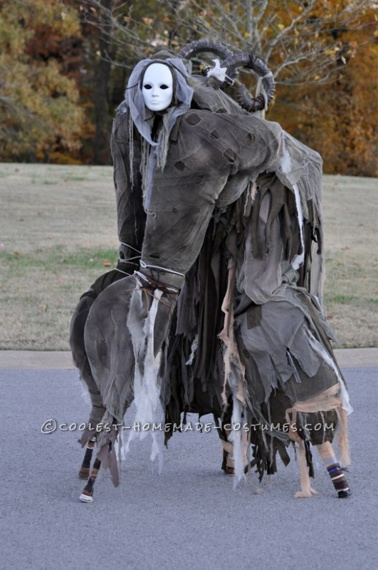 Scary stilt costume - photo#20
