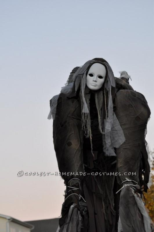 Terrifying Four-Legged Stilt Spirit Costume - 2