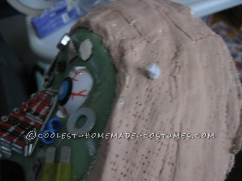 Coolest 70's Fembot Villain Mask and Costume