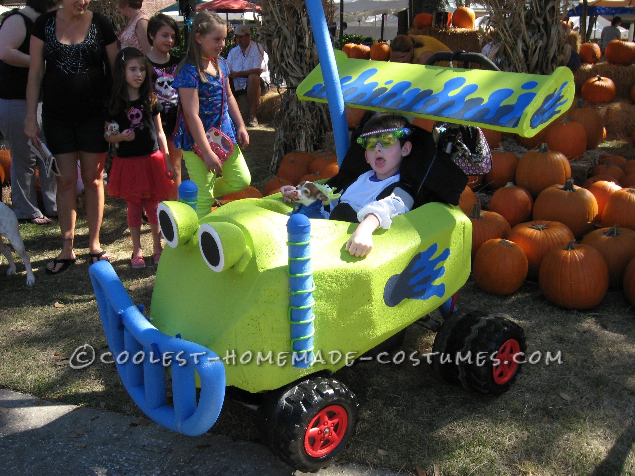 Buzz Lightyear Wheelchair Costume
