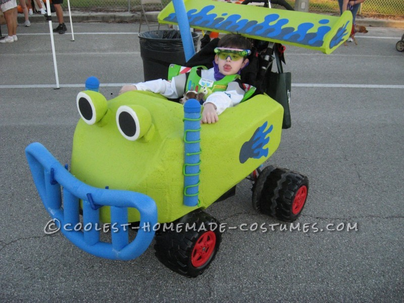 Coolest Homemade Buzz Lightyear and RC Wheelchair Costume - 2