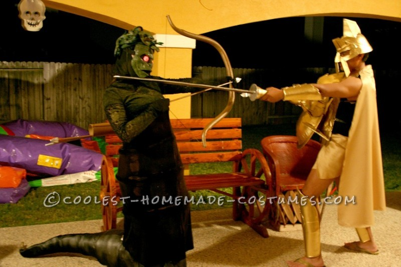 Coolest Medusa and Zeus Homemade Halloween Costumes Inspired by The Immortals - 1