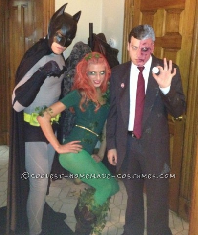 A Bat-Tastic Family Halloween Group Costume