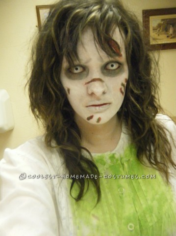 A Cheap, Effective and Damn Scary Regan from the Exorcist Costume: Hello lovers of horror!!</p><p>The exorcist has got to be one of my all time favourite films so this year I thought before I get any older and can't pull