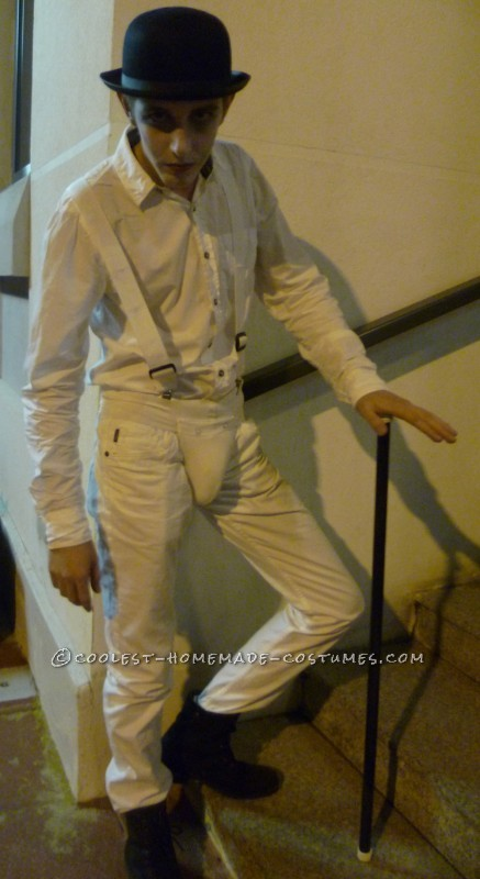 Homemade Droog Costume from A Clockwork Orange